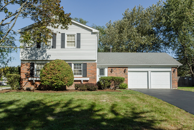 Buffalo Grove Single Family Home Price Change: 12 Cloverdale Court