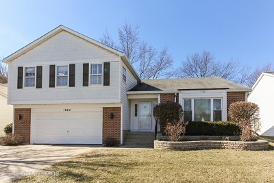 Buffalo Grove Single Family Home Re-Activated: 1004 Hobson Drive