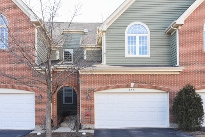 Palatine Condo/Townhouse For Sale: 444 West Fairview Circle