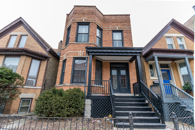 Chicago Multi Family Home For Sale: 2045 West Augusta Boulevard