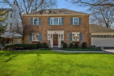Wilmette Single Family Home For Sale: 2213 Kenilworth Avenue
