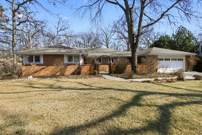 Lake Forest Single Family Home For Sale: 899 Cherokee Road