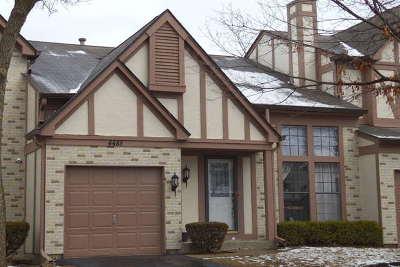 Hoffman Estates Condo/Townhouse For Sale: 4488 Opal Drive