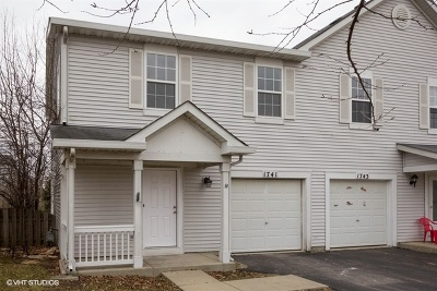Romeoville Condo/Townhouse For Sale: 1741 Raleigh Trail #1741