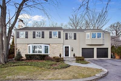 Winnetka Single Family Home For Sale: 1233 Forest Glen Drive North