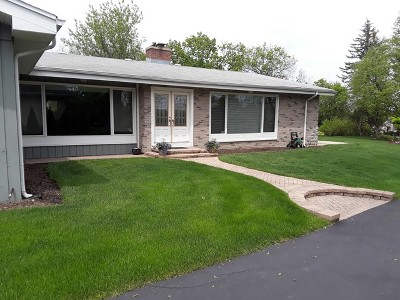 Willowbrook Single Family Home Price Change: 6310 South Madison Street