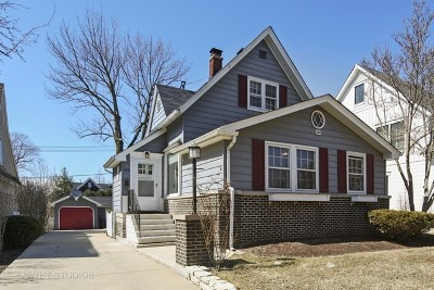 Western Springs Single Family Home For Sale: 4604 Woodland Avenue