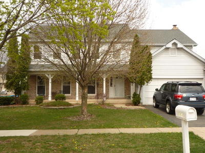 Hoffman Estates Single Family Home For Sale: 1604 North Crowfoot Circle
