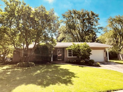 Downers Grove Single Family Home Re-Activated: 6624 Blackstone Drive