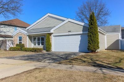 Hoffman Estates Single Family Home Price Change: 4989 Chambers Drive