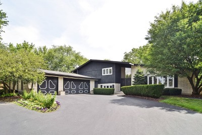 Willowbrook Single Family Home For Sale: 10s311 Hampshire Lane West