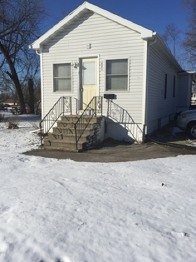 Joliet, Shorewood Rental For Rent: 601 Miami Street