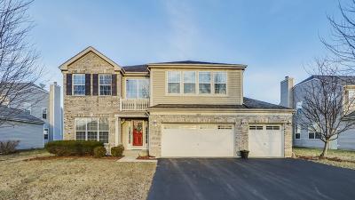 Aurora Single Family Home For Sale: 600 Meadowsedge Lane