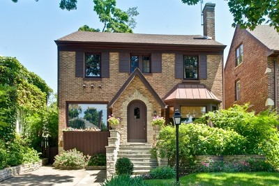Wilmette Single Family Home For Sale: 100 Garrison Avenue