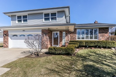 Schaumburg Single Family Home Contingent: 435 Timothy Court