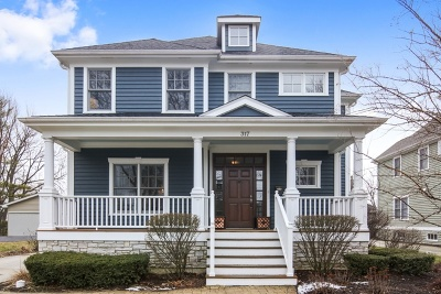 Downers Grove Single Family Home For Sale: 317 4th Street