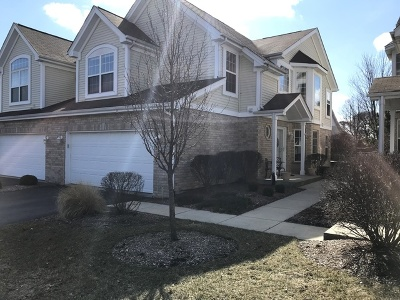 Orland Park Condo/Townhouse For Sale: 9733 Hillcrest Circle