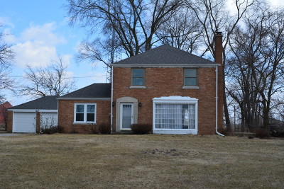 Marengo Single Family Home For Sale: 206 Busse Road