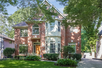 Hinsdale Single Family Home For Sale: 552 North Vine Street