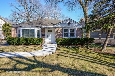 Downers Grove Single Family Home New: 5617 Middaugh Avenue