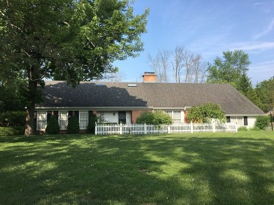 Lake Forest Single Family Home New: 585 Meadowood Drive