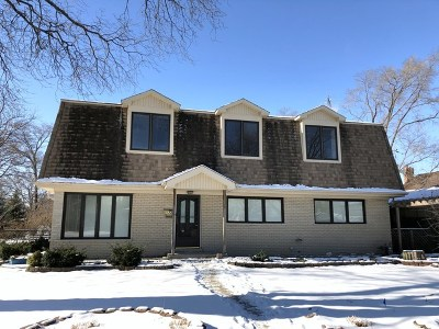 Glenview Single Family Home For Sale: 124 Flora Avenue