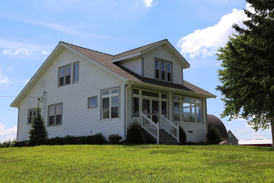 Hampshire Single Family Home For Sale: 43w471 Bahr Road
