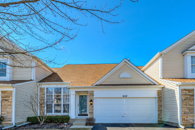 Palatine Condo/Townhouse For Sale: 654 North Charter Hall Drive