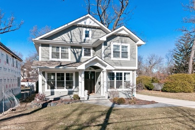 Glen Ellyn Single Family Home New: 720 Elm Street