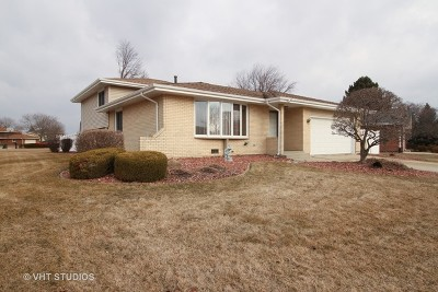 Tinley Park Single Family Home New: 17618 Mulberry Avenue