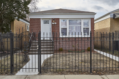 Single Family Home For Sale: 1109 West 112th Street