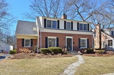 Glenview Single Family Home For Sale: 716 Beaver Road