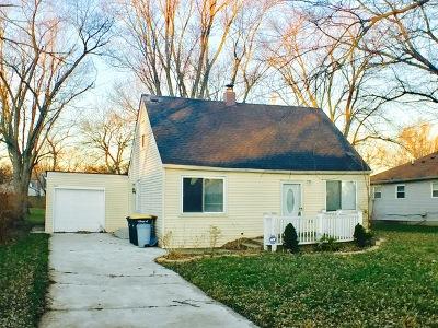 Lansing Single Family Home New: 17808 Locust Street
