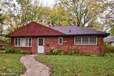 Park Forest Single Family Home For Sale: 456 Indianwood Boulevard