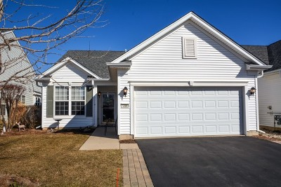 Huntley Single Family Home Re-Activated: 13964 Chanwahon Road