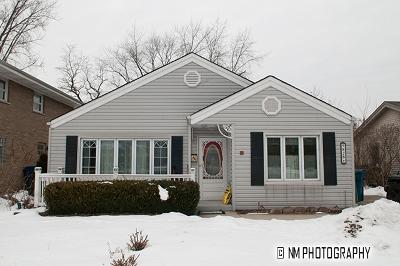 Oak Lawn Single Family Home New: 9828 Warren Avenue