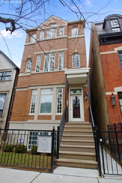 Chicago Condo/Townhouse New: 1036 West Altgeld Street #1