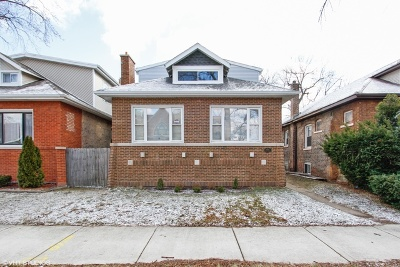 Single Family Home For Sale: 8105 South Dante Avenue