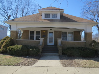 Elgin Single Family Home Contingent: 1138 Sherwood Avenue