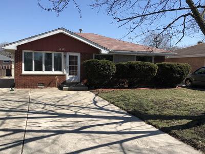 Oak Lawn Single Family Home New: 9715 Oak Park Avenue