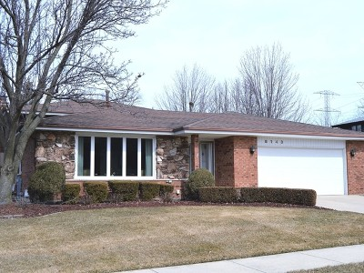 Orland Park Single Family Home New: 8148 West 157th Street