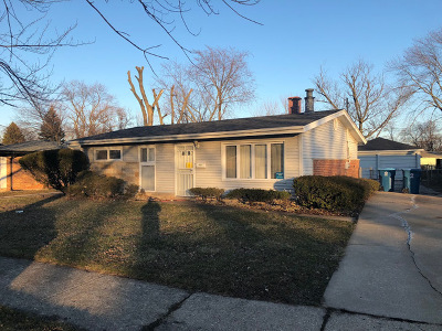 Calumet City Single Family Home New: 1433 Stanley Boulevard