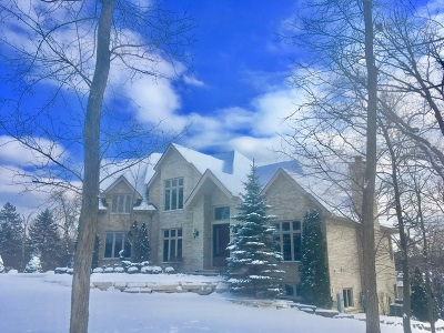 Burr Ridge Single Family Home New: 302 Old Oak Court