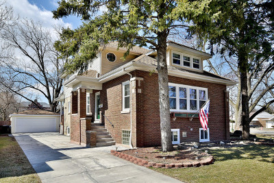 Chicago Single Family Home New: 5676 North Neva Avenue