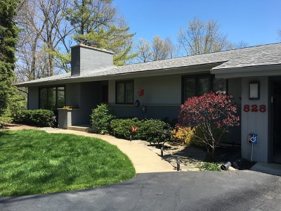 Deerfield Single Family Home For Sale: 828 Northwoods Court