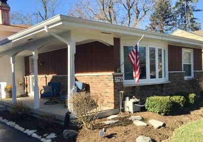 Downers Grove Single Family Home New: 5622 Washington Street