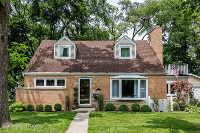 Deerfield Single Family Home For Sale: 910 Osterman Avenue