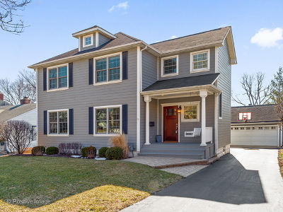 Clarendon Hills Single Family Home New: 29 Waverly Avenue
