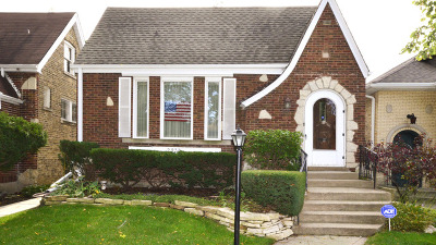 Chicago Single Family Home New: 2933 West Greenleaf Avenue