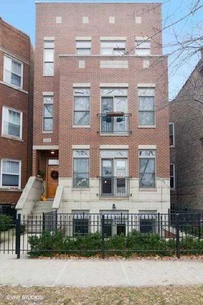 Chicago Condo/Townhouse New: 3806 North Damen Avenue #1